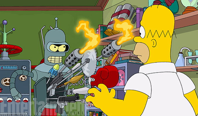 simpsons-crossover-futurama